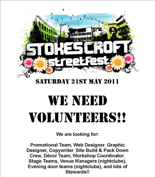 Volunteer for Streetfest